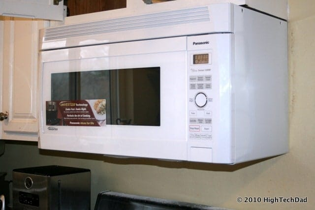 How to Remove an Old Microwave & Install a New Panasonic