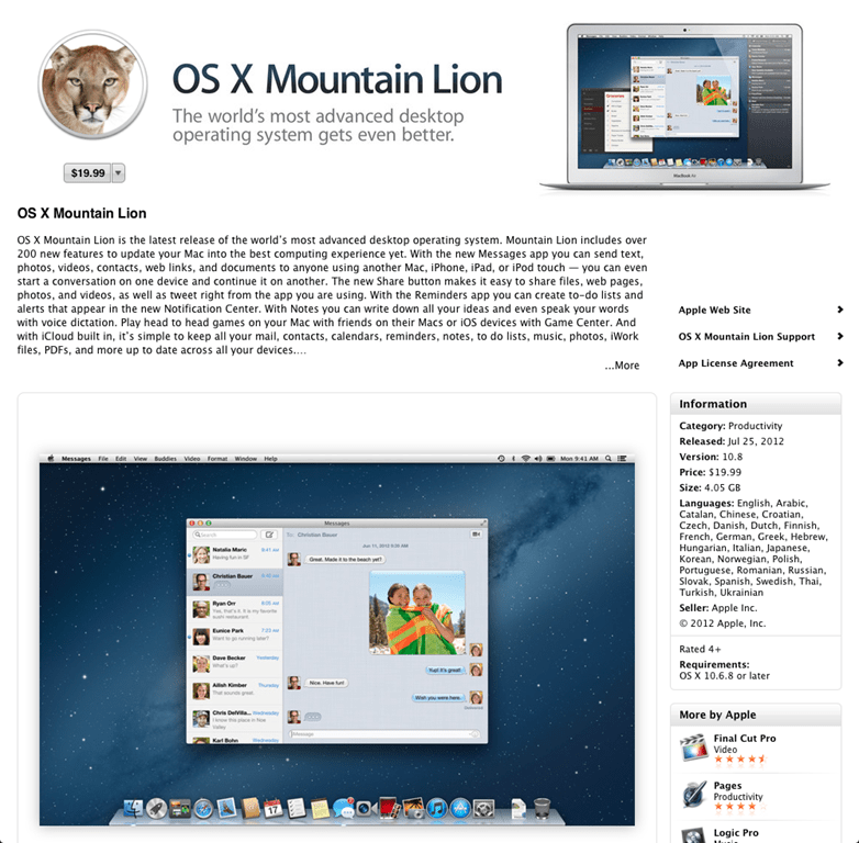 How To Create a Bootable Mountain Lion (OS X 10 8) Installation DVD