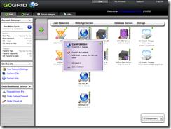 GoGrid management portal