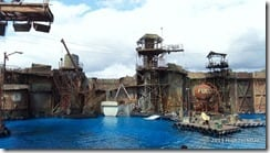 Waterworld water stage