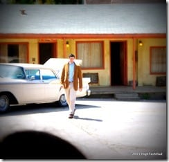 Back Lot - Bates Motel & Knife