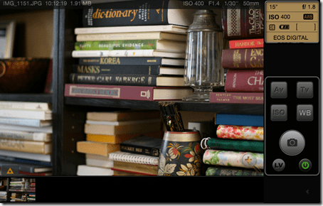 iUSBportCamera web browser app shot