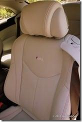 Seats with Speakers - 2013 Infiniti G37 IPL convertible