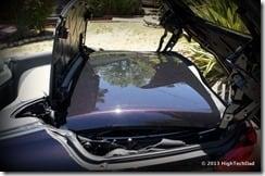 Top in Trunk - 2013 Infiniti G37 IPL convertible