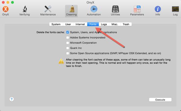 Fix Mac Office 2011 Crashing in Yosemite - Clear Mac Font Cache