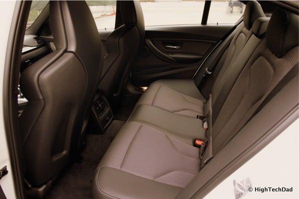 2015 BMW M3 - Rear Seats