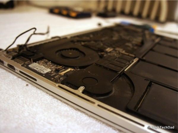 Replace a MacBook Pro Keyboard - Open MacBook Pro