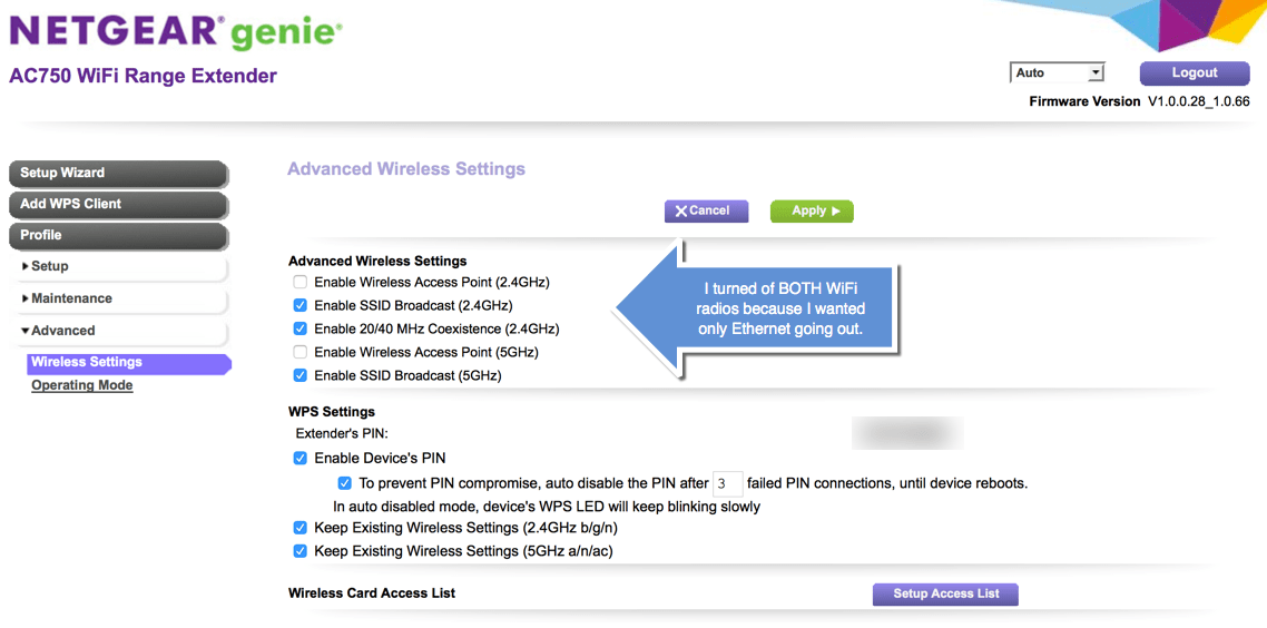 The NETGEAR AC750 WiFi Range Extender Solved My Yosemite