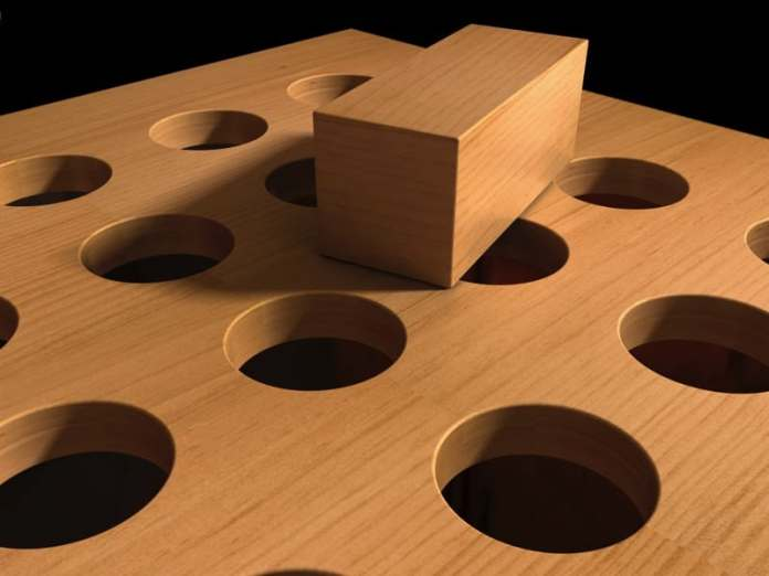 Content Creation & Social Media Advice - Don't Force It! Square peg & round hole