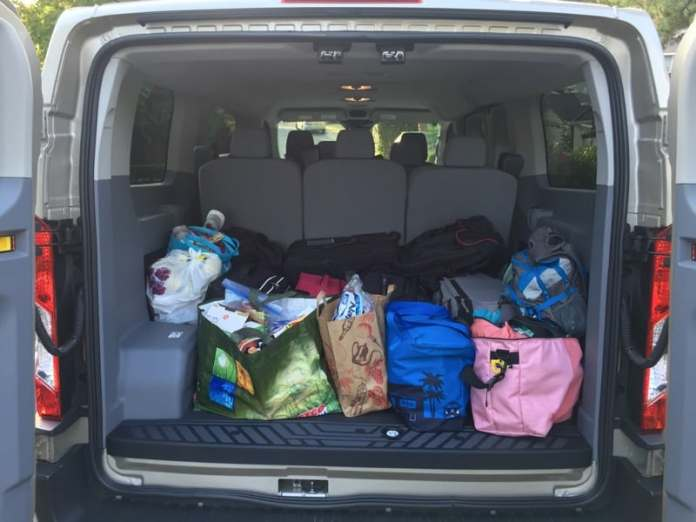 2015 Ford Transit Wagon XLT - With Luggage