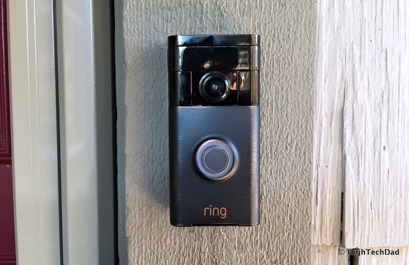 HTD Ring doorbell - product