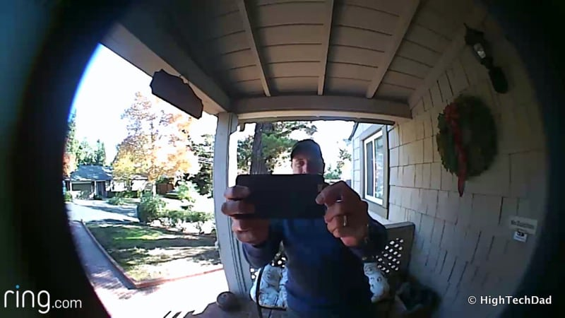 HTD Ring doorbell - video