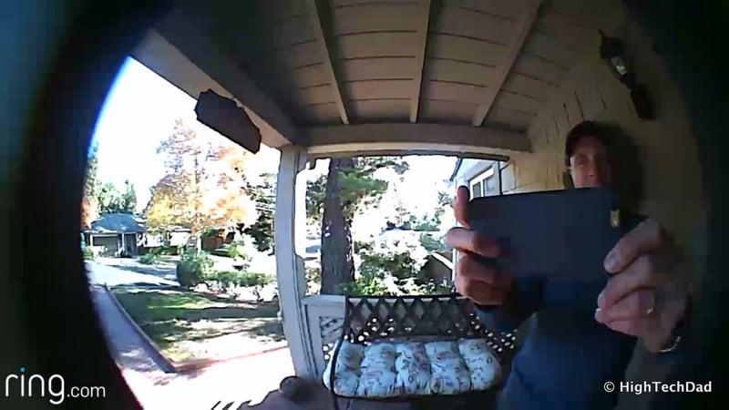 HTD Ring doorbell - video #2