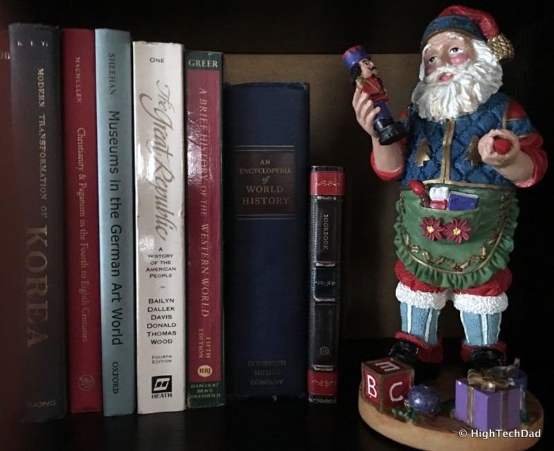 HTD Twelve South BookBook iPhone Case - hidden on shelf