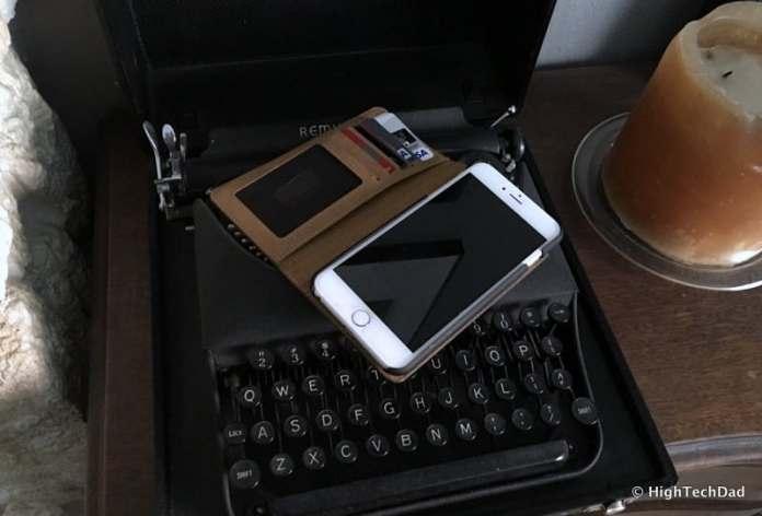 HTD Twelve South BookBook iPhone Case - Case open