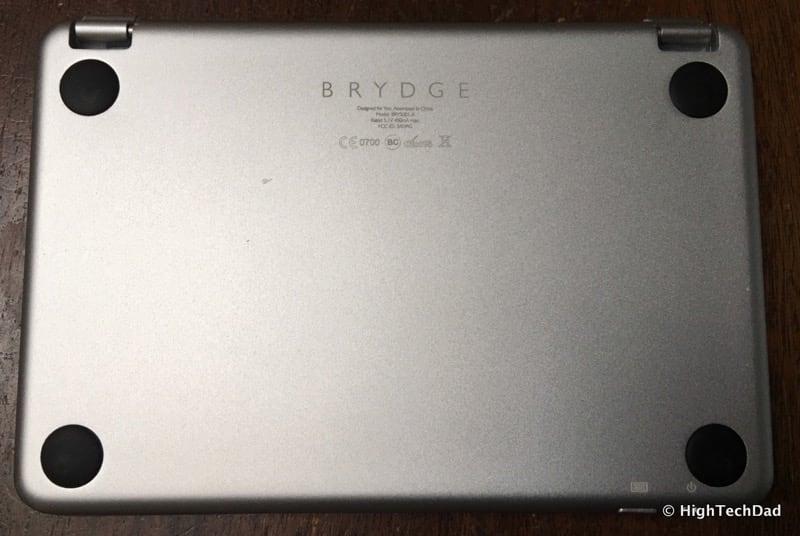 HTD Brydge Keyboard - back