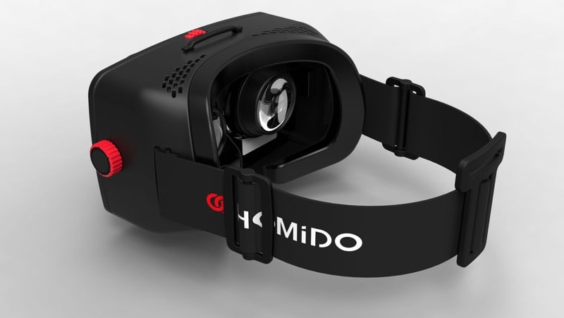 HTD - Homido & Homido midi - side view of Homido VR headset