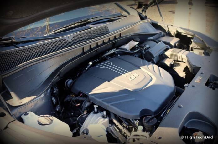 HTD 2016 Kia Sorento - engine