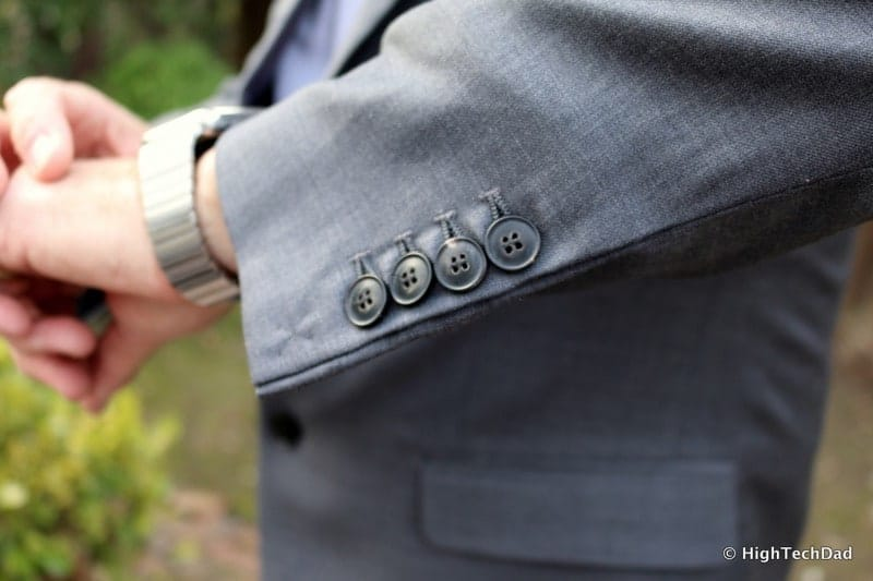 HTD CottonBrew - suit buttons