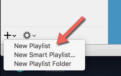 HTD Set Up & Sync iTunes Playlist - new playlist