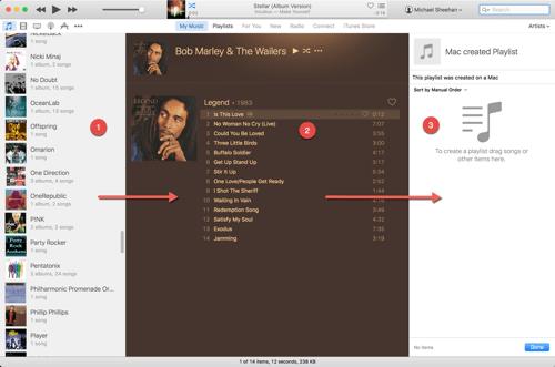 HTD Set Up & Sync iTunes Playlist - create playlist