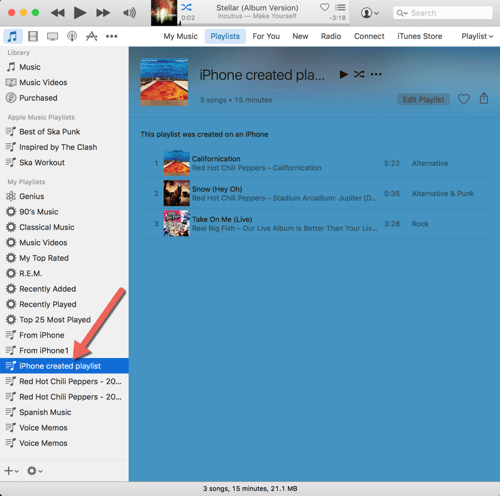 HTD Set Up & Sync iTunes Playlist - iOS playlist on Mac