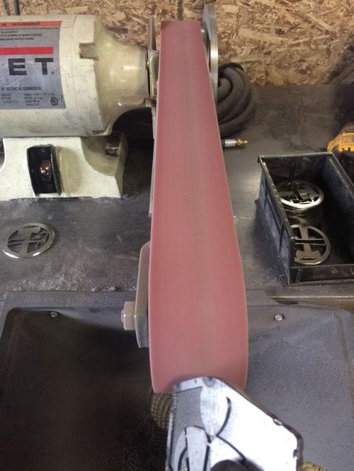 HTD FosterWeld - grinding