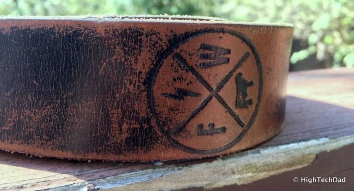 HTD FosterWeld - FosterWeld branding on belt