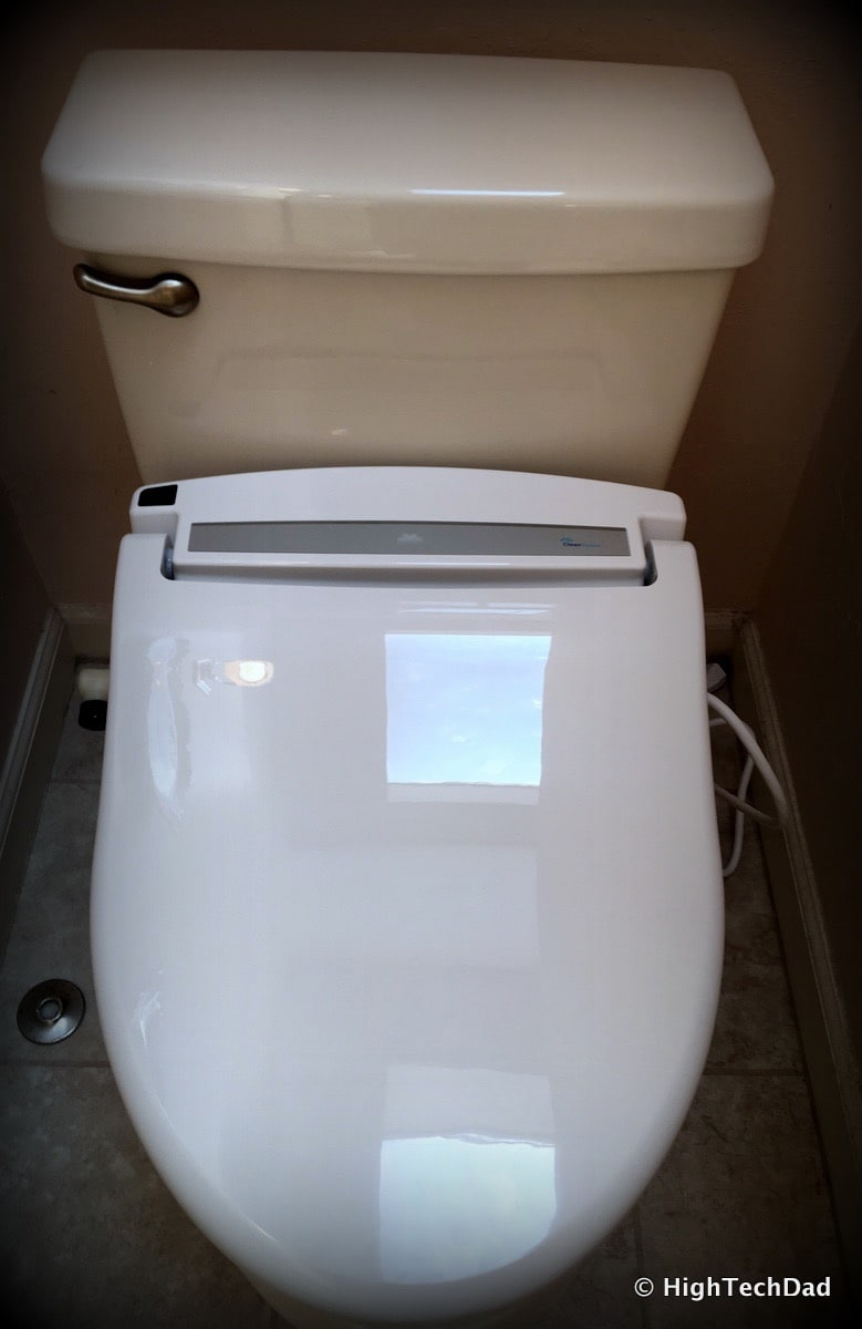 Clean Sense DIB-1500R Bidet Review - Installed