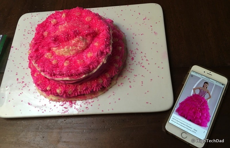 HTD Kid Cooking Tips - Pink cake inspired by social media