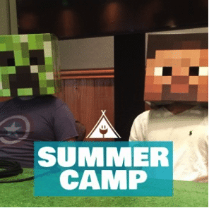 """Connected Camps """"Online Summer of Minecraft"""" - summer camp"""