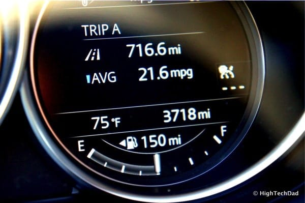 HighTechDad 2016 Mazda CX-9 Review - average MPG