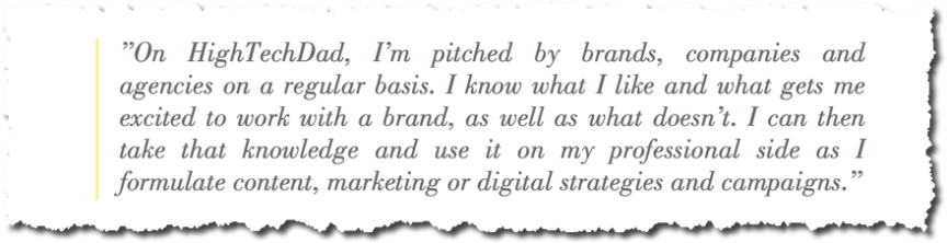 Imperial Leisure interviews Michael Sheehan on blogging, influencers, brands and more - being pitched by brands
