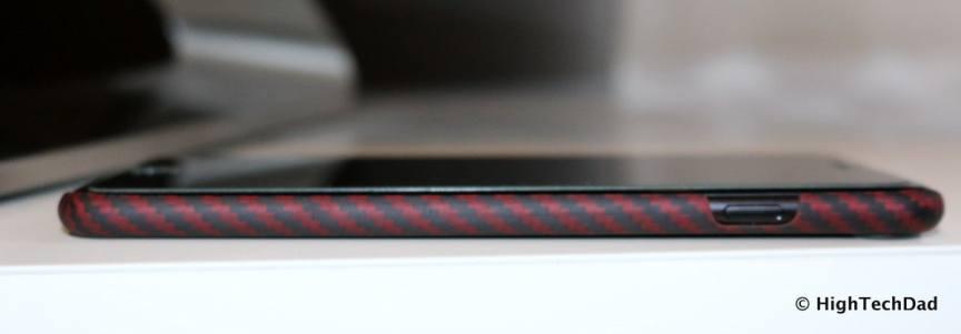 HTD Pitaka Aramid iPhone 7 Case - side view