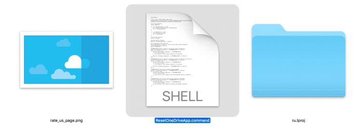 Reset OneDrive - Shell command