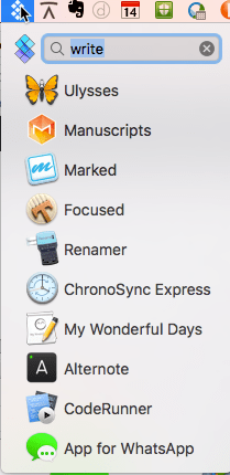 "Setapp - search for ""write"""