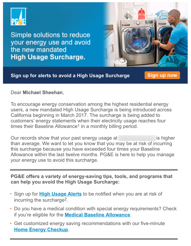 PGE - email