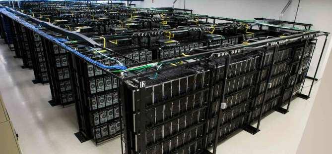 Build Something Brilliant - Liquid Web - data center racks