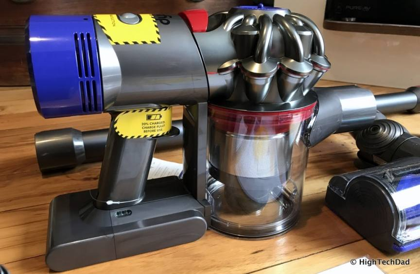 Dyson V8 Absolute - the motor