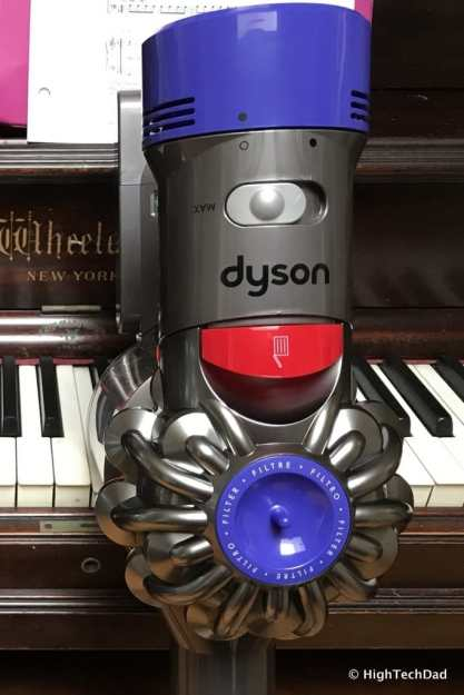 Dyson V8 Absolute - top section