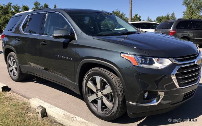 HTD 2018 Chevy Traverse - front view