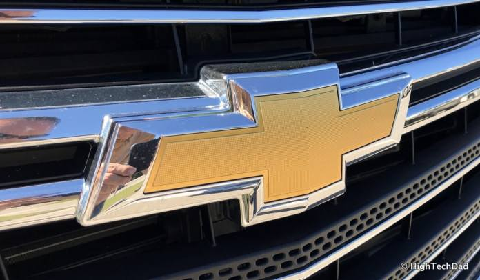 HTD 2018 Chevy Traverse - yellow Chevy emblem