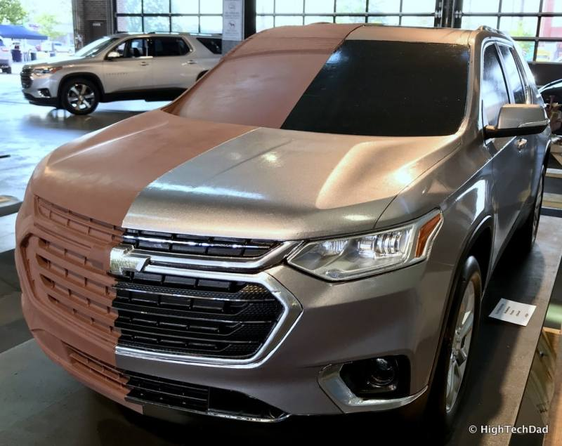 HTD 2018 Chevy Traverse - clay model