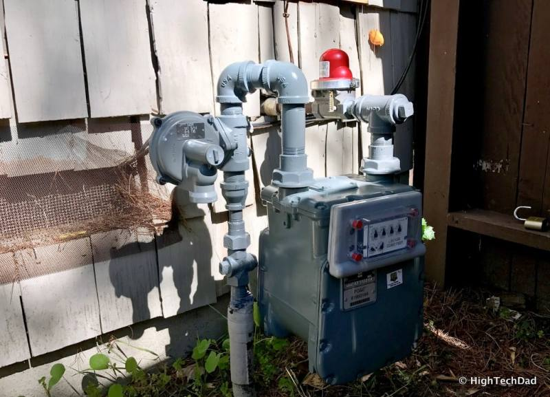 HTD pool upgrade - new gas service