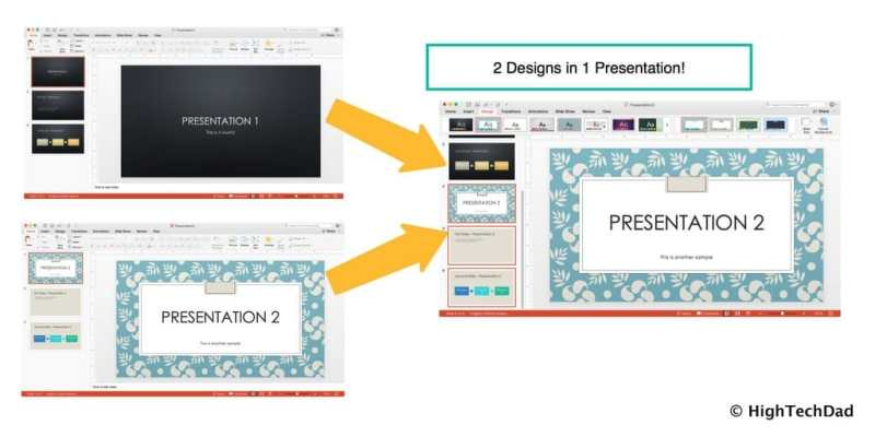 HTD PowerPoint Design - two in one