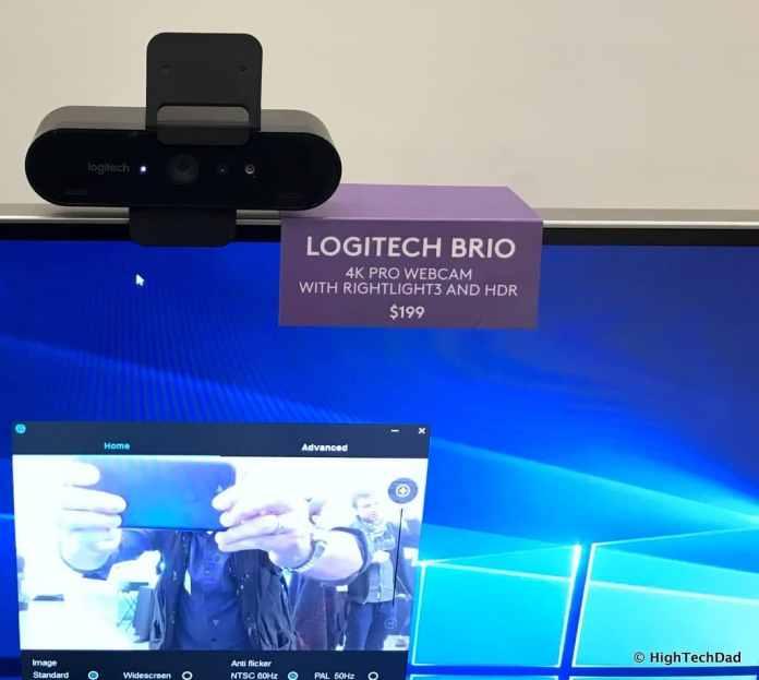 Logitech 2017 Holiday Tech Media Preview - Logitech Brio webcam