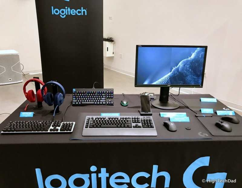 Logitech 2017 Holiday Tech Media Preview - Logitech G table