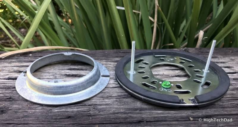 Ring Floodlight Cam - custom bracket