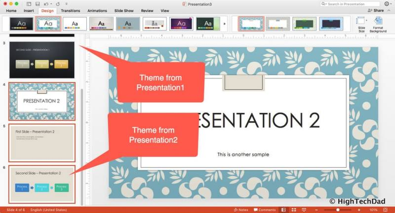 HTD PowerPoint Design - both themes