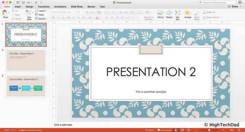 HTD PowerPoint Design - Presentation 2